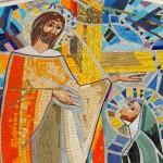 Inauguração e bênção do Mosaico de Santa Rita