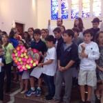 Missa das crianças da Catequese em homenagem aos pais
