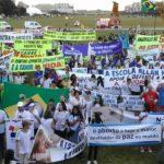 Entidades pró-vida marcham em Brasília contra a descriminalização do aborto