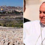 Catequese e apelo à paz na Terra Santa