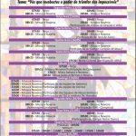 Confira a Programação Religiosa da Festa de Santa Rita 2019