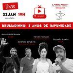 COMISSÃO PARA A ECOLOGIA INTEGRAL PROMOVE LIVE COM ATINGIDOS DE BRUMADINHO